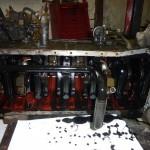 Bottom end of a cummins engine