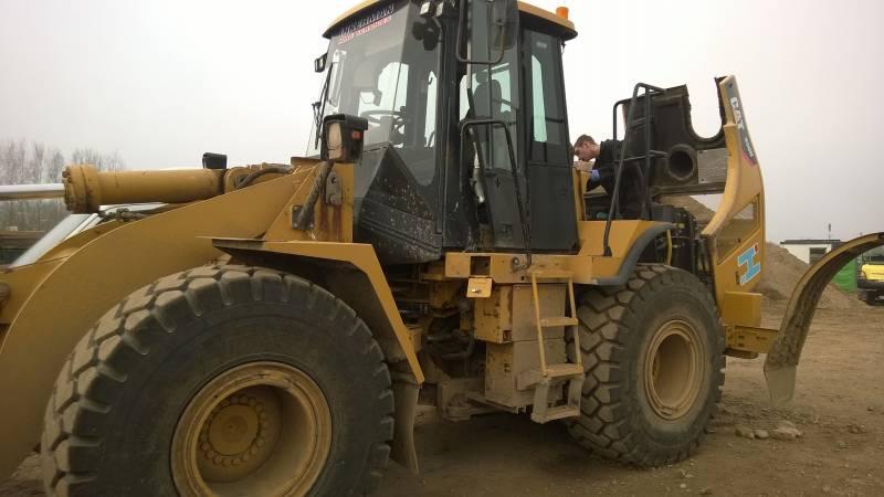 CAT 950H Loading shovel