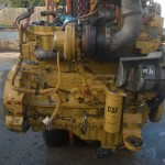 Cat C7 Engine we Rebuilt engine from a 950H