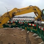 Komatsu Pc210 Weld up lifting eye
