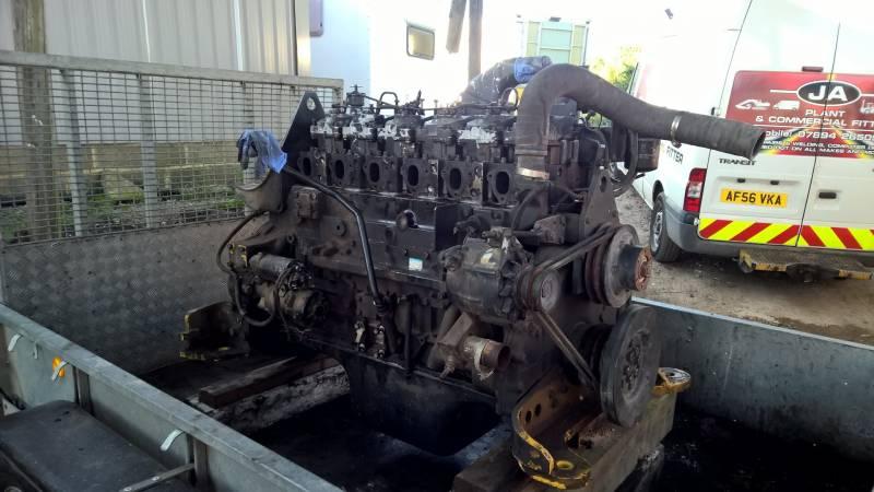 Komatsu engine 450 engine